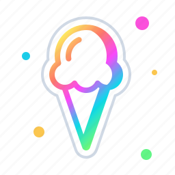 cone, cream, dessert, food, ice, icecream, sweet icon