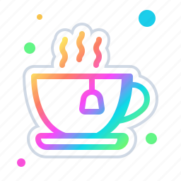 beverage, coffee, cup, hot, mug, tea icon