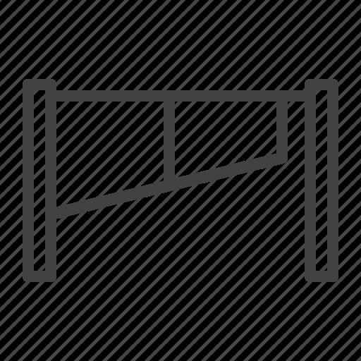 barrier, fence, gate, roadblock icon