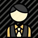 barista, bartender, waiter icon