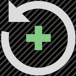 adjustment, rotation icon