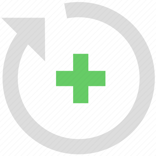adjustment, arrow, rotation icon