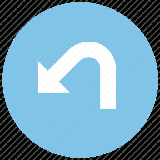 back, restore, undo icon
