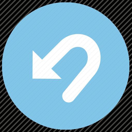 reset, restore, undo icon