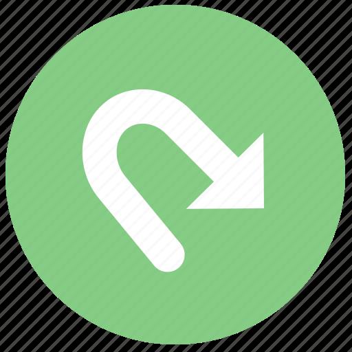 arrow, function, redo icon