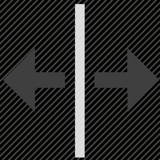 adjustment, resize, size, split, stretch, window icon