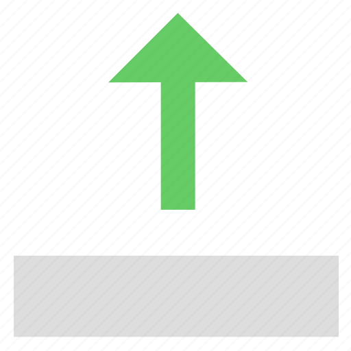 adjustment, resize, size, stretch, top, upload, window icon