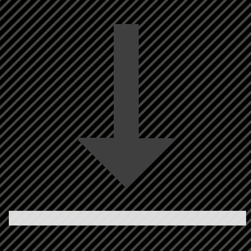 adjustment, bottom, download, resize, size, stretch, window icon