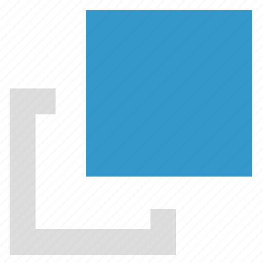 back, front, layer, objects icon