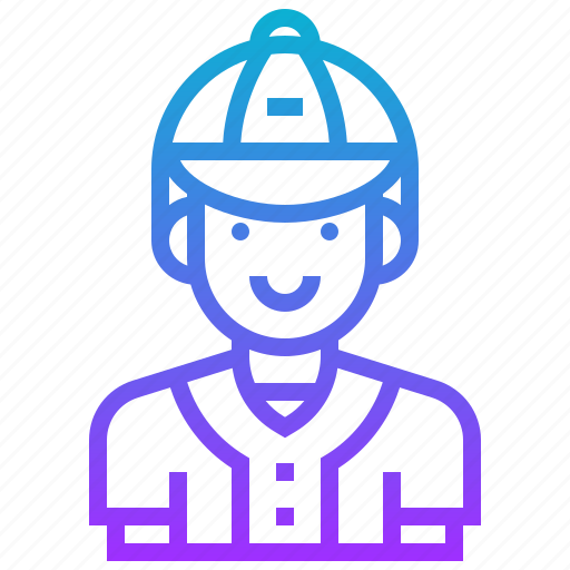 avatar, baseball, coach, man, player, sport icon