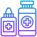 aid, fist, healthcare, kit, medical