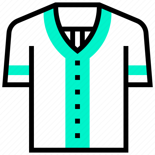 baseball, shirt, sport, uniform icon