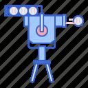 machine, pitching, robot, technology icon