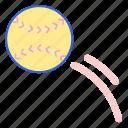ball, game, softball, sport