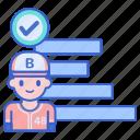 chart, graph, standard, stats icon