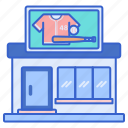 team, gift, shop, store icon