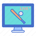 game, live, sport, watch icon