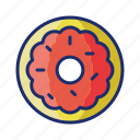 doughnuts, food, sweet icon