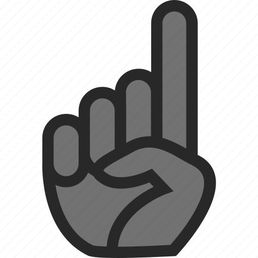 baseball, hand, point, pointer icon