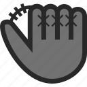 baseball, baseball glove, glove, sport icon