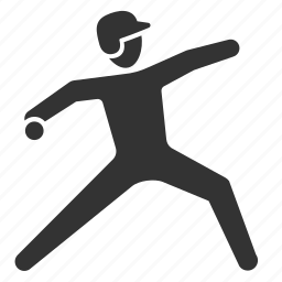 baseball, game, pitcher, play, player, sport, throw icon
