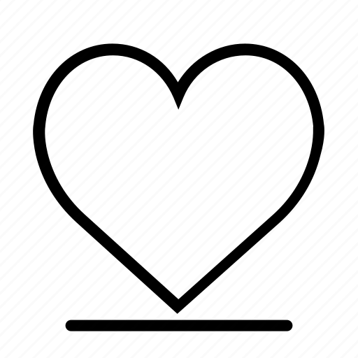 design, ecg, favorite, like, love, relationship, two hearts icon