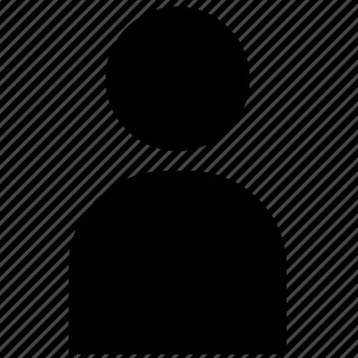 account, name, profile, user icon