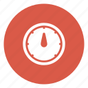 guage, measure, pressure, speedometer, temperature icon