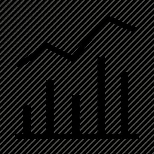 chart, diagram, finance, graph, statistics icon