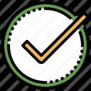 check, checking, confirm, confirmation, interface icon