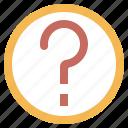 help, question, button, information