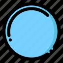 circle, lap, mirror, round icon