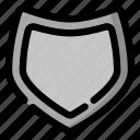 defense, security, shield icon