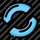 f5, repeat, sync icon