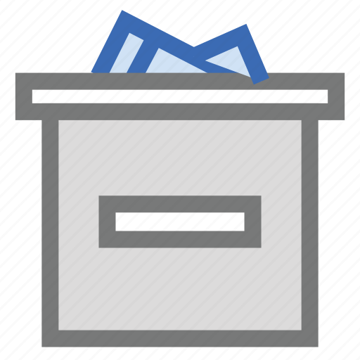 box, delivery, files, gift, package, parcel, service icon