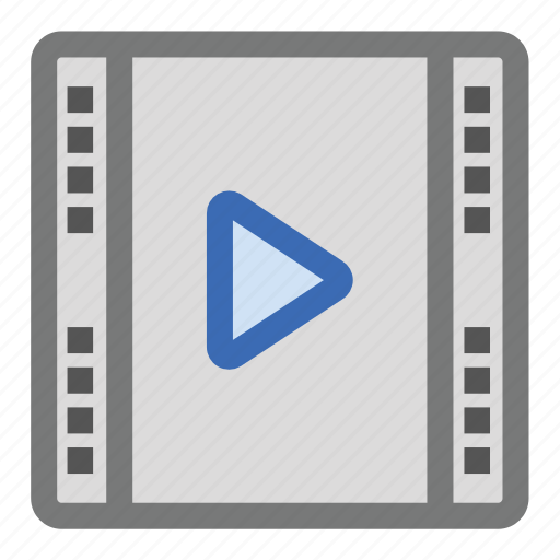 film, media, movie, payer, play, video icon