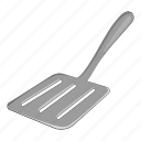 cartoon, handle, kitchen, kitchenware, spatula, tool, utensil icon