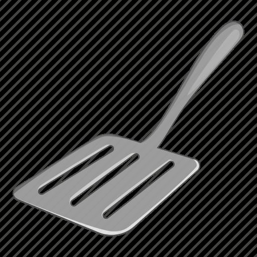 cartoon, handle, kitchen, kitchenware, spatula, tool, utensil icon