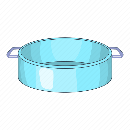 Cartoon, cook, cooking, food, kitchen, pan, utensil icon - Download on Iconfinder