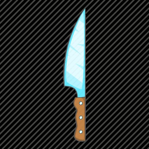 blade cartoon knife military sharp tool weapon icon