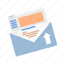 basic, business, ecommerce, email, newsletter, subscribe, subscription icon