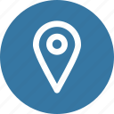 location, marker, navigation, pin icon