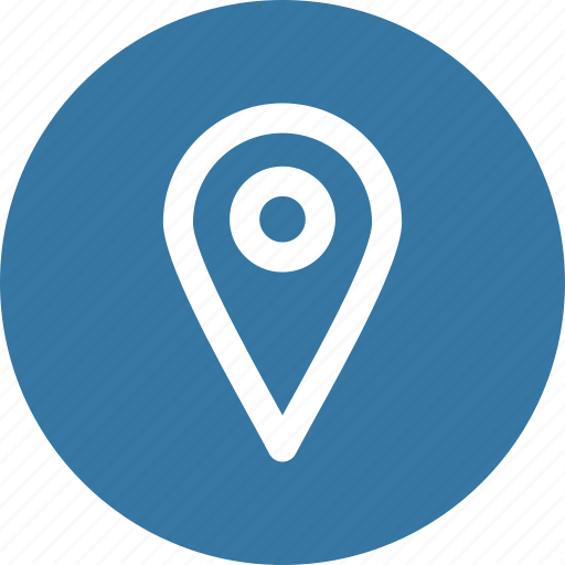 location, marker, navigation icon