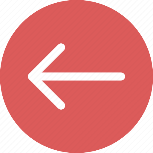 arrow, arrow left, direction icon