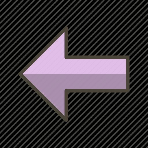 Arrow, back, basic elements icon - Download on Iconfinder