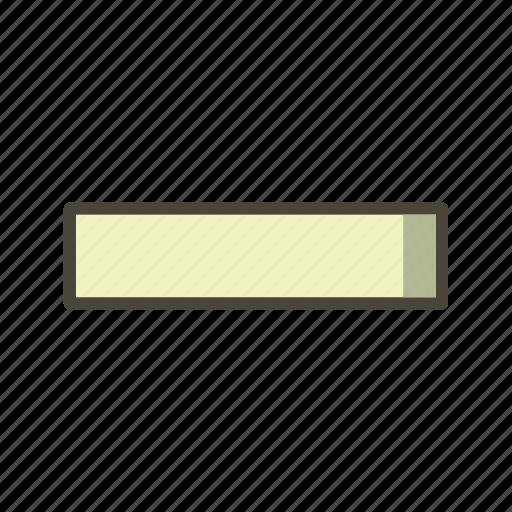 Minus, minimize, basic elements icon - Download on Iconfinder