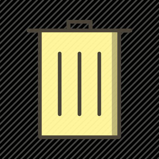 Delete, recyle bin, basic elements icon - Download on Iconfinder