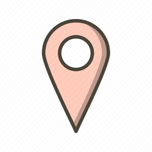 basic elements, gps, location, pin, place icon