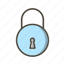 lock, locked, safe, secure icon