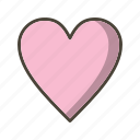 bookmark, favorite, favourite, heart icon